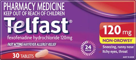 Fast 24hr Relief - 120mg