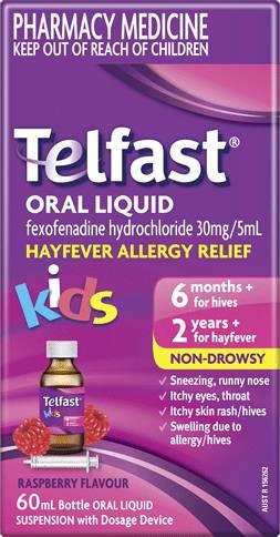 Telfast Oral Liquid Kids
